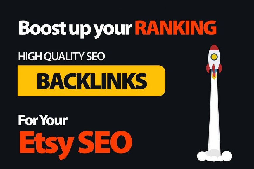 build real site proven etsy SEO backlinks