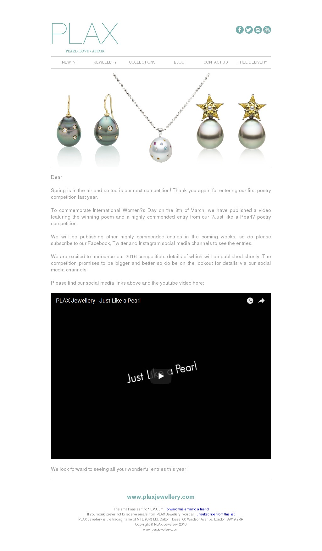 Design your Responsive HTML coded Email/Newsletter