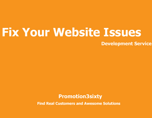 fix your website issues for error,  cms customization and theme setup