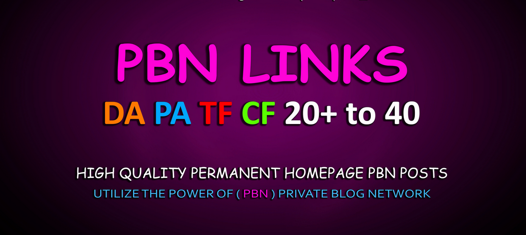 build 10 permanent dofollow pbn backlinks