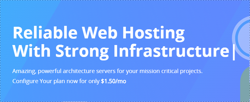 Web Hosting 5GB for 1 year with Free Domain