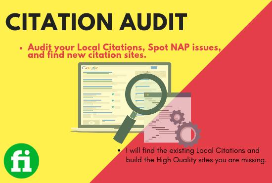 Local Citation Audit
