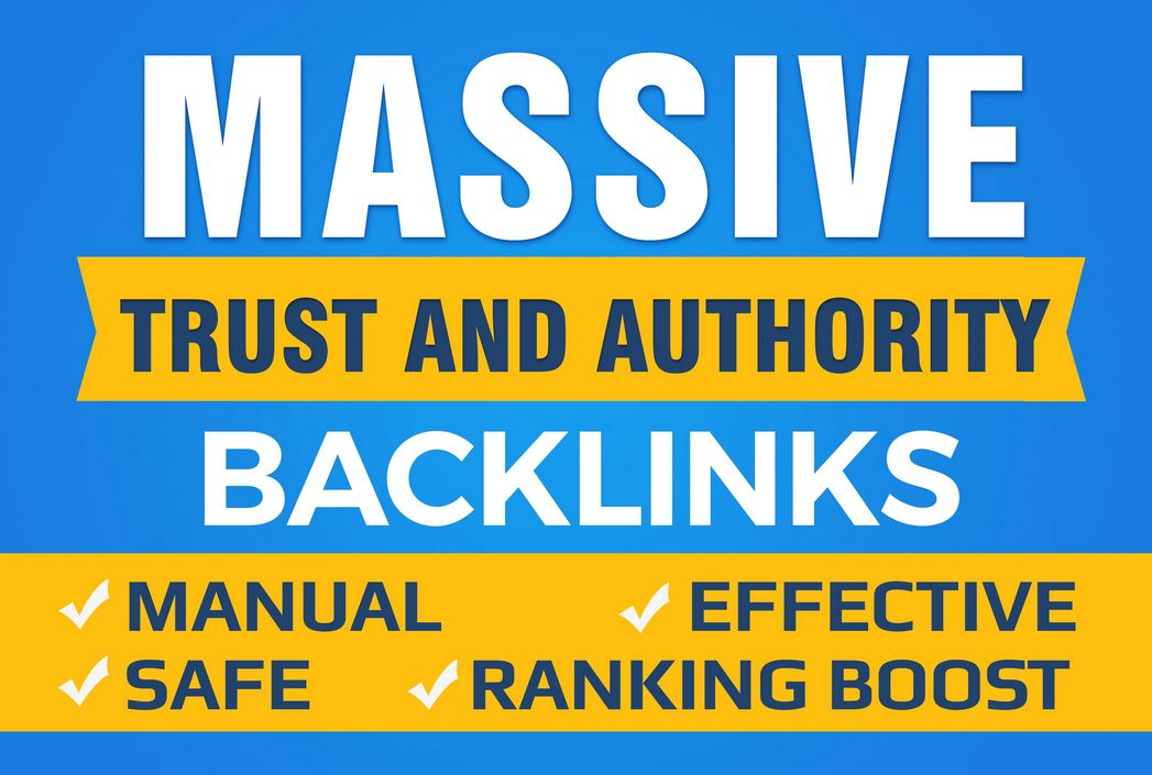 55 Profile Backlinks Manual Create and Trust Links