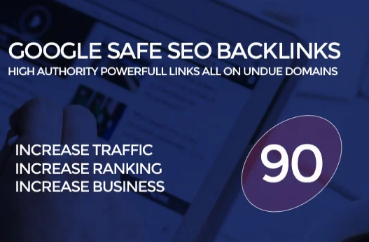 build 90 unique domain SEO backlinks on tf100 da100 sites