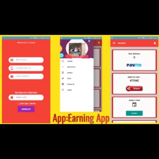 Create android application with admob ads for earning