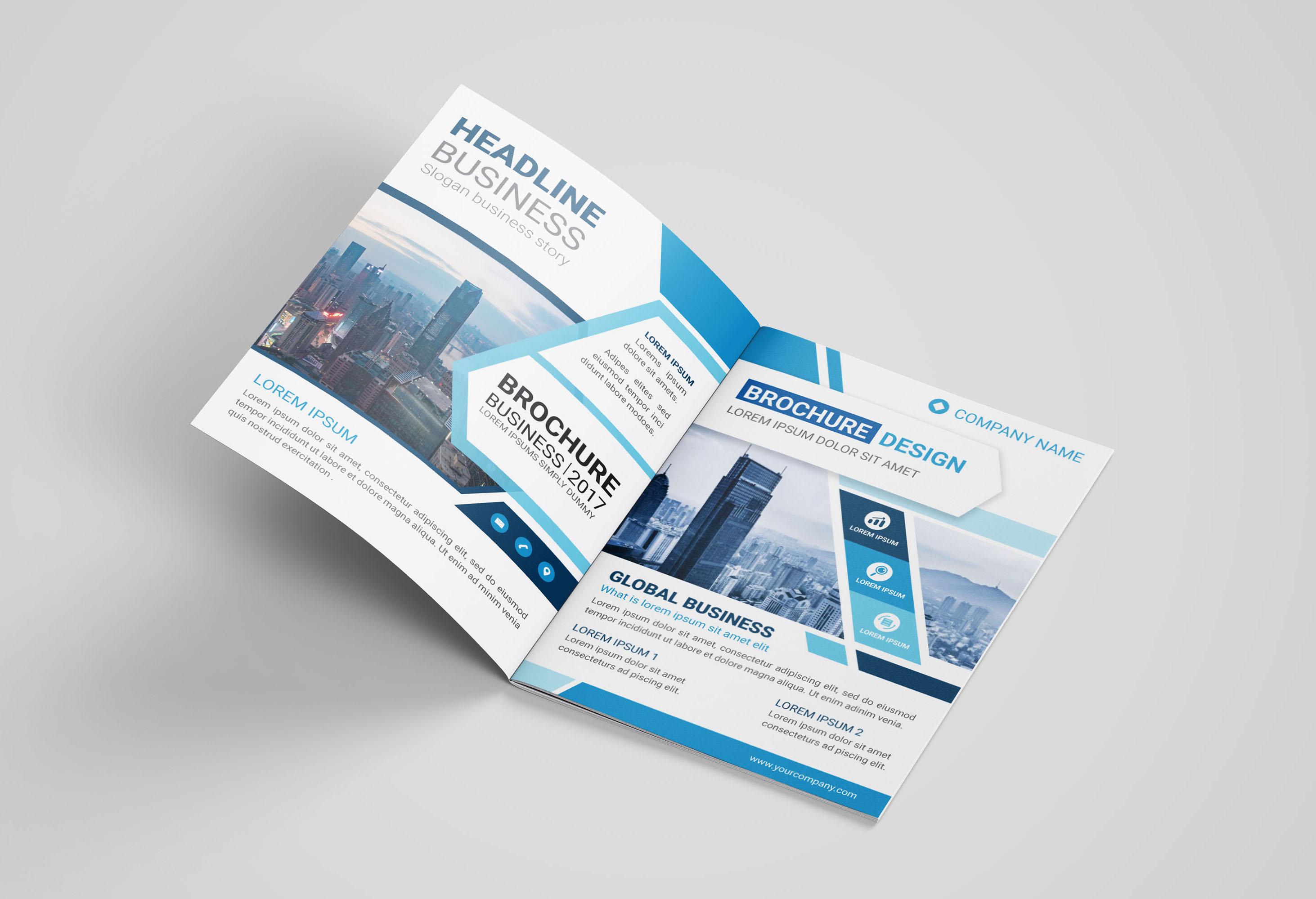 Design Business Brochure, Company Profile Or Annual Report