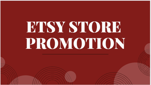 enhance etsy traffic and online store sale