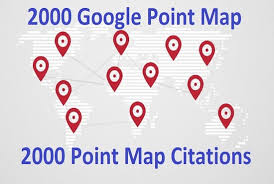 create 300 Google Point Map citations For Local Business optimizations