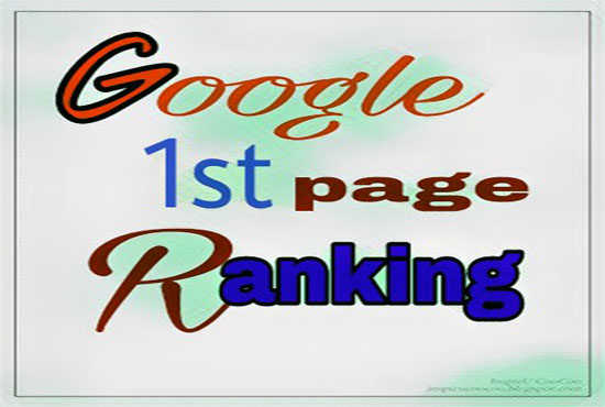 Offer Guaranteed Rank your website on google 1st page
