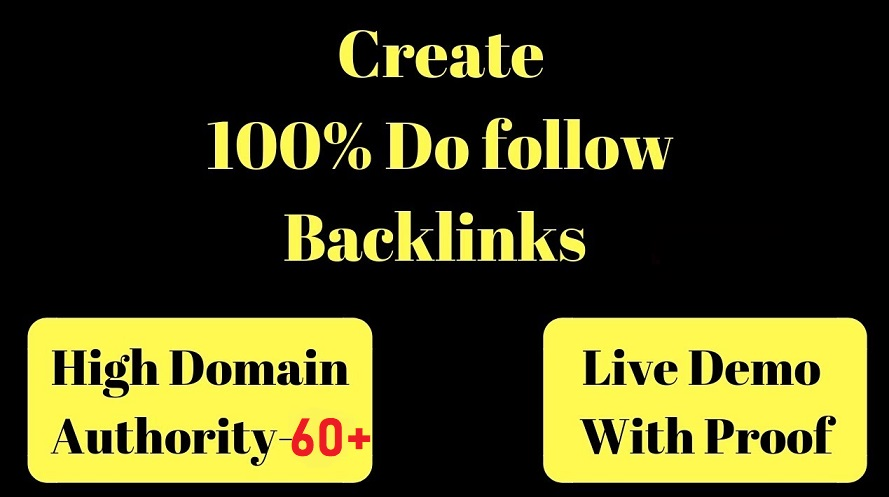 MANUALLY Do 50 USA UNIQUE Site SEO BackIinks on High DA sites Plus Edu Links