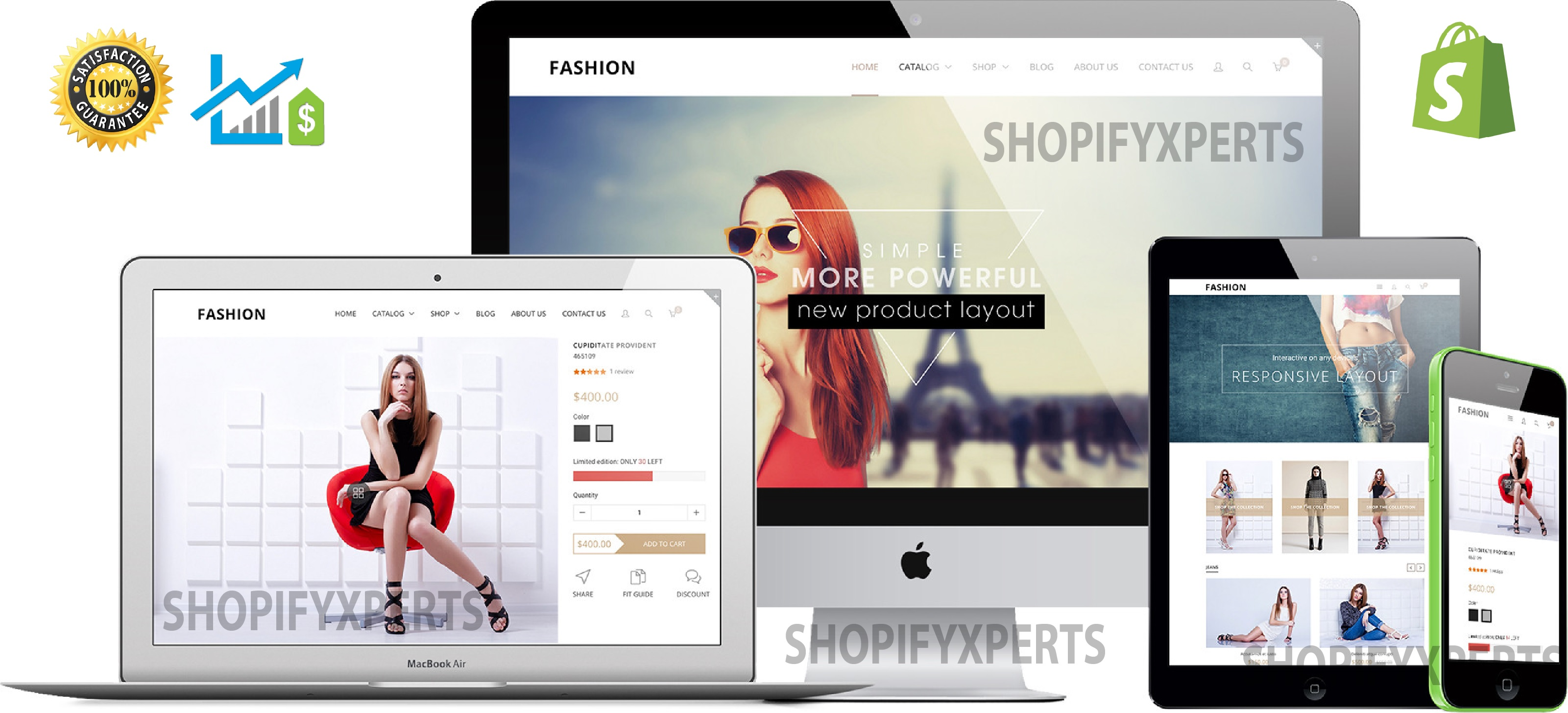 Design and Develop Shopify Store black friday and Shopify Dropshipping Store
