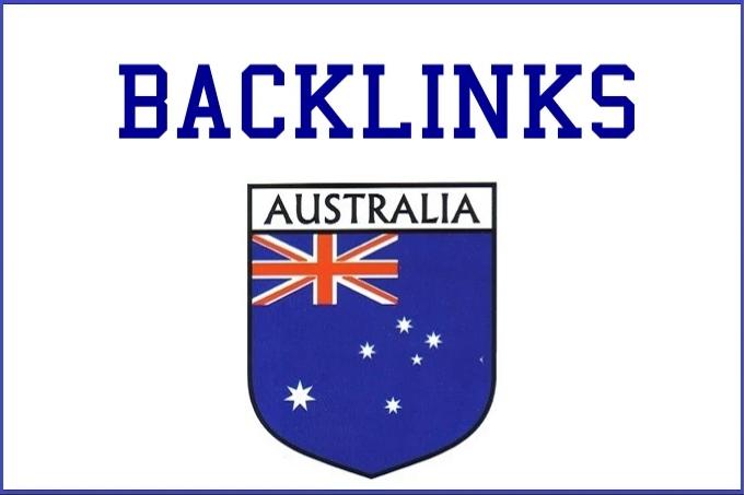 make 12 australian high traffic PR backlinks