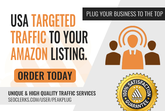 Real Targeted USA Traffic To Any Amazon Listings