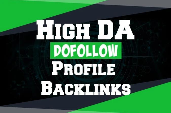 create 20 high authority dofollow backlinks