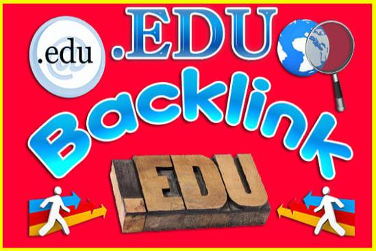 boost website for google ranking with 5000 edu backlinks