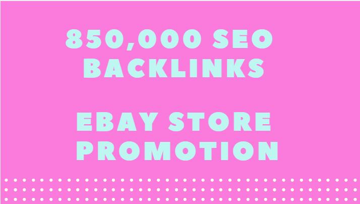 Provide all in 1 850,000 ebay SEO backlinks