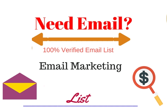 Email Marketing strategy to big targeted 0.9 Million list Real consumer list