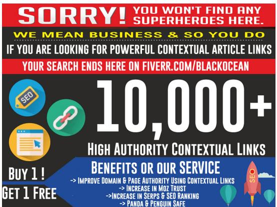 CREATE 100,000 dofollow article contextual anchored SEO links