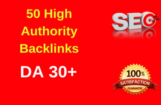 creates 50 authority backlinks to elevate your google ranking
