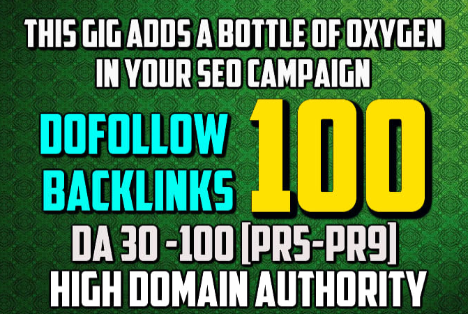 elevate website or youtube ranking to build 100 backlinks