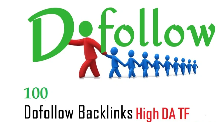 add 100 link building backlinks on high da tf sites