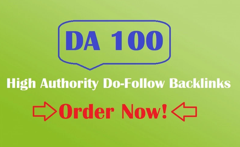 post 75 backlinks on da 100 sites