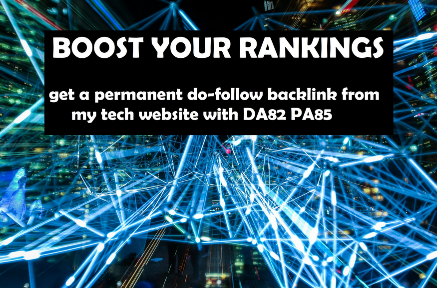 create a backlink from my english tech website