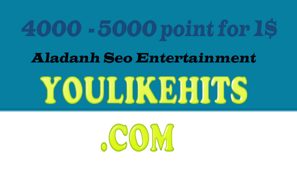 3000 like4like points Sales Promotion