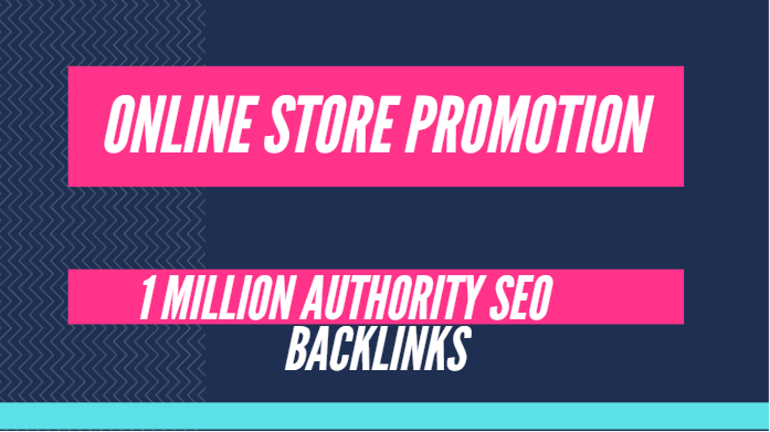 Build 1 million SEO backlinks for online store promotion