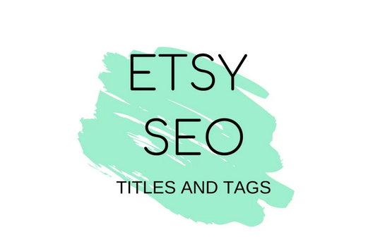 provide titles and tags to optimize etsy SEO