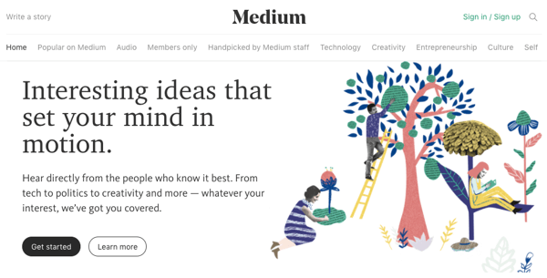 provide you guest post on medium. com
