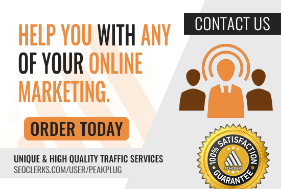 *Contact Us Before Purchasing* I Can Help You With Any Of Your Online Marketing