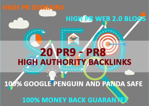 AdvanceSEO 10 Backlinks 10 PR9 Backlinks for Better SEO Rank