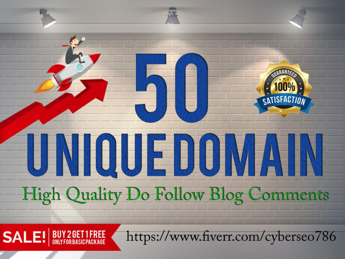DO 50 high Da Pa 40+ Blog Comment Backlinks