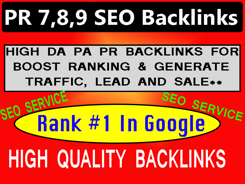 White hat,  Dofollow SEO Backlinks for Rank top in Google