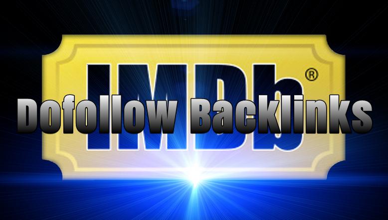 IMDb Backlink Dofollow