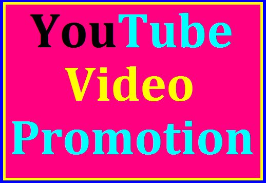 NON DROP & HIGH QUALITY YOUTUBE PROMOTION 6 hrs DELIVERY