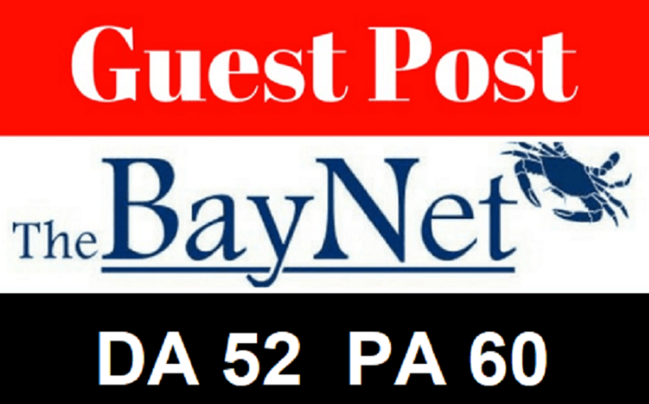 Publish guest post on thebaynet Dofollow Backlink