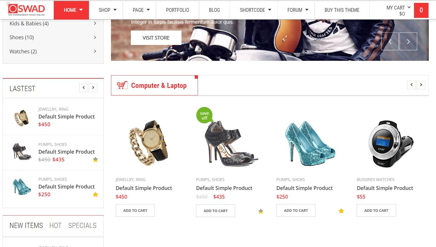 Design Responsive Ecommerce Wordpress Website Store