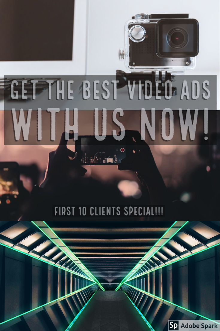 We do short video Ads for businesses and social media networks