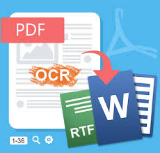 Convert PDF and PNG to Word, Excel and PPW