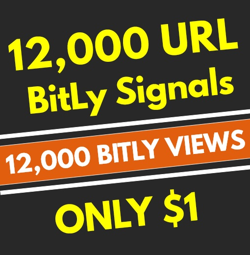 12,000+ High Quality PR8 BitLy Views Social Signals - SEO GOOGLE RANKING FACTOR
