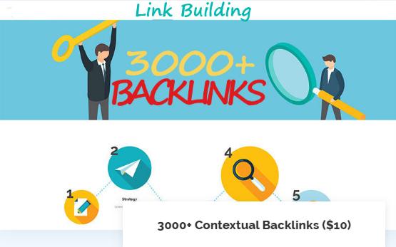 3000 Contextual Backlinks Mix (PBN, Social, Do-Follow)