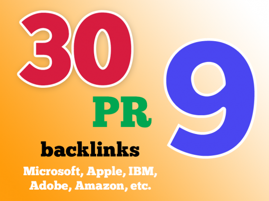 High Quality google friendly 30 backlinks DA-75+ And ...