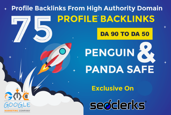 Build Unique 75 Permanent Seo Backlinks On HQ Sites