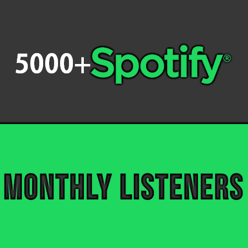 Fastest 5000+ Monthly Listeners For Artist Profile Exclusive Promotion streams