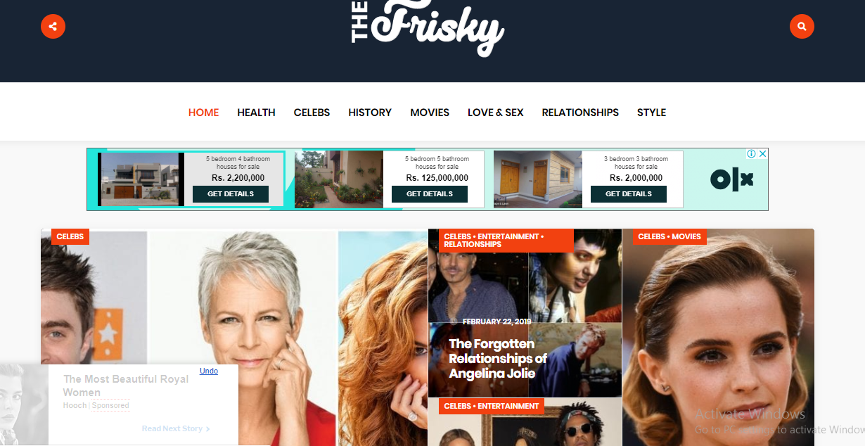 Publish Your Article On Thefrisky Da 74 Popular Magzine