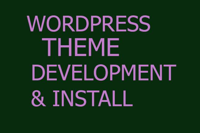 create a responsive WordPress website, Blog desing