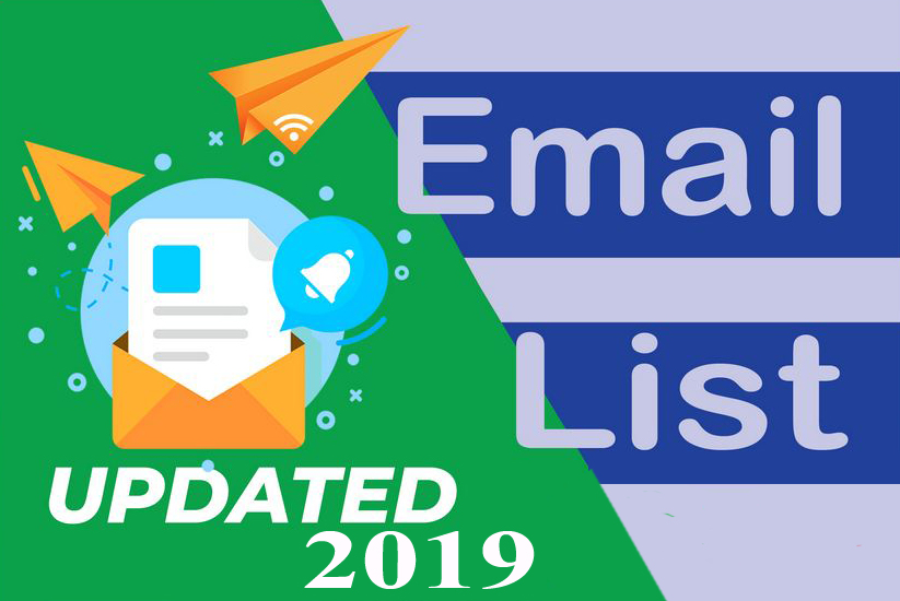 Give you 16000 email list Update 2019
