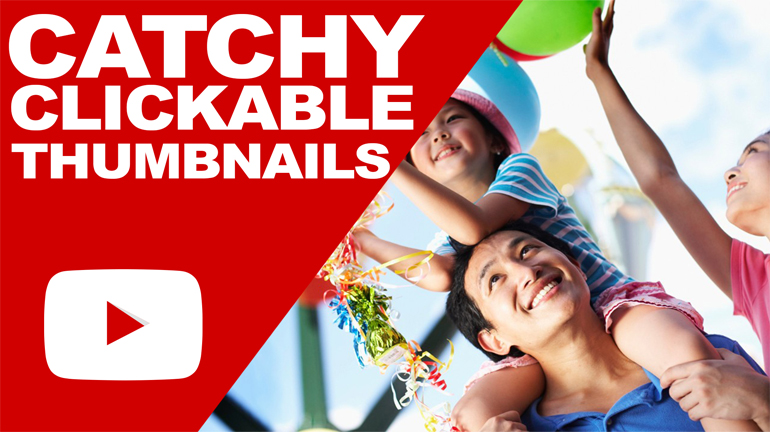 design catchy youtube thumbnails with in 24hours